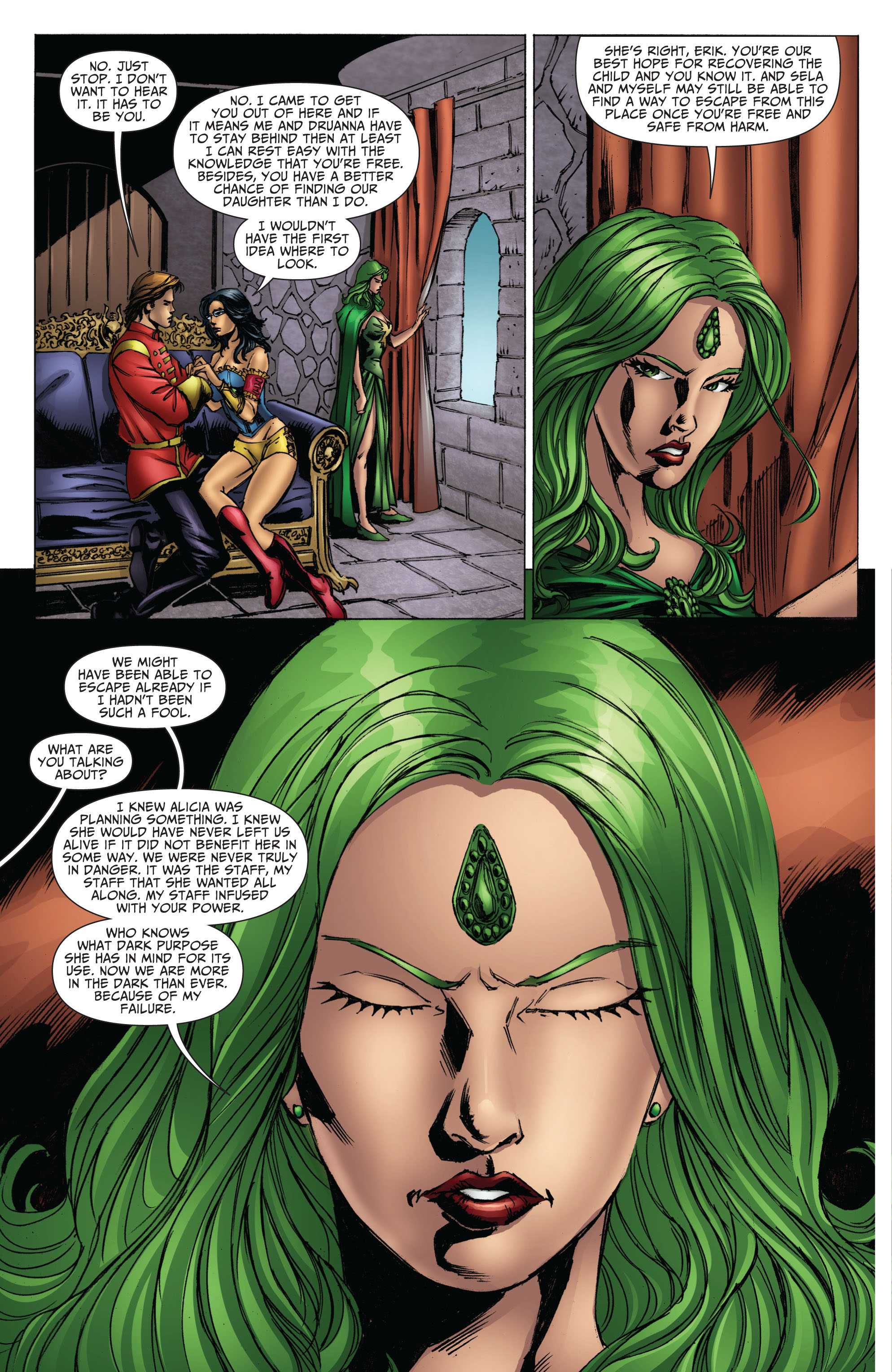 Grimm Fairy Tales (2005) Issue #70 #73 - English 6
