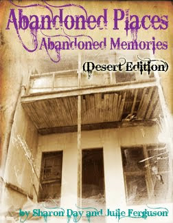 Our book of psychic reads and photos of abandoned sites