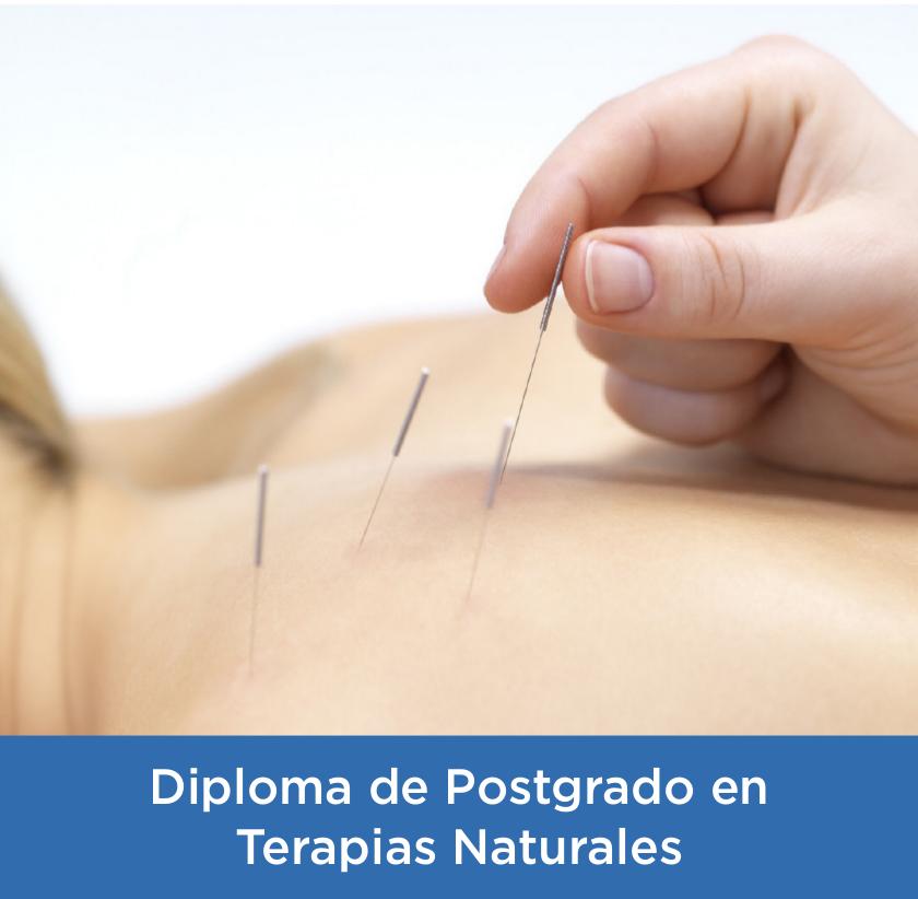 Experto Universitario en Terapias Naturales