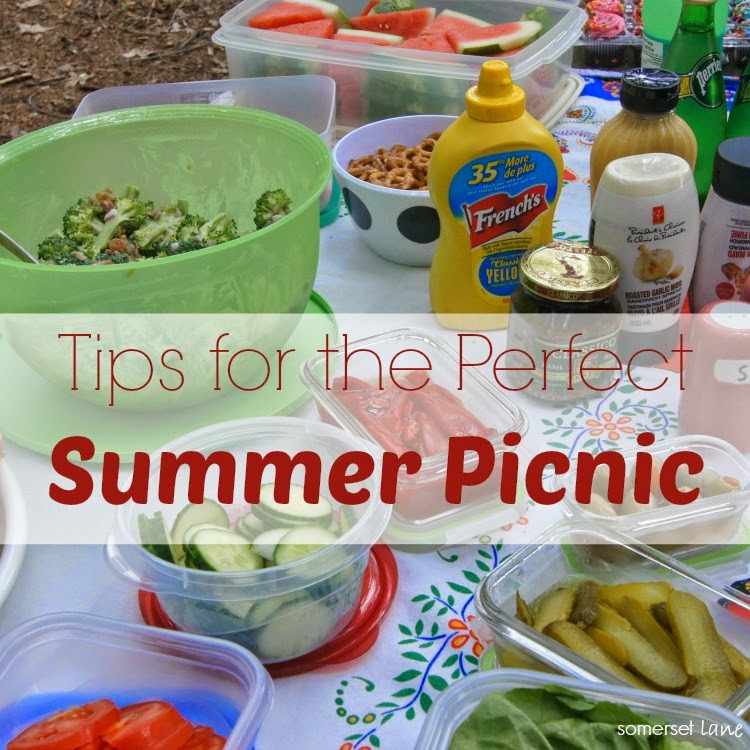 tips to plan the perfect summer picnic