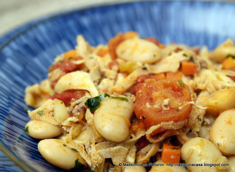 La piccola casa la cucina tradizionale italiana trippe cento pelli con fagiolane e pomodori - La piccola cucina milano ...