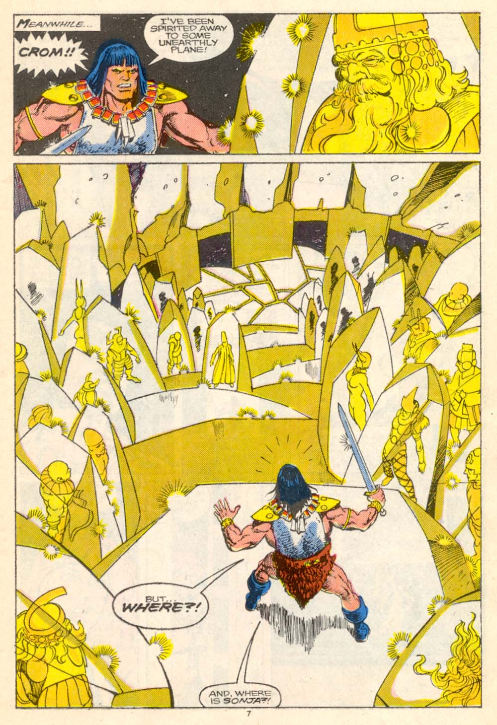 Conan the Barbarian (1970) Issue #205 #217 - English 8