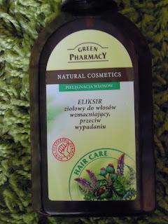 Elfa, Green Pharmacy, Eliksir ziołowy do włosów wzmacniający RECENZJA