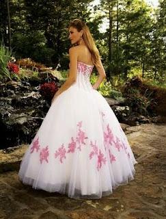Vestidos de Novia Rosados, parte 4