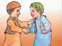 Koleksi Kartun Islami : Behaviour Good N Bad