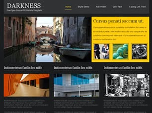 web template | darkness web template