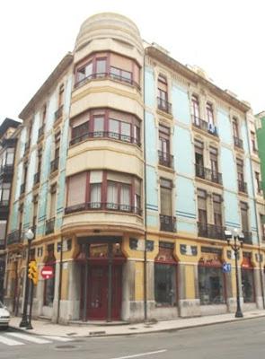 Gijón, Modernismo, edificio calle Instituto 37