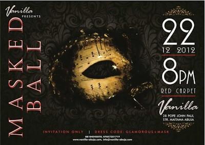 Vanilla Masked Ball 2012