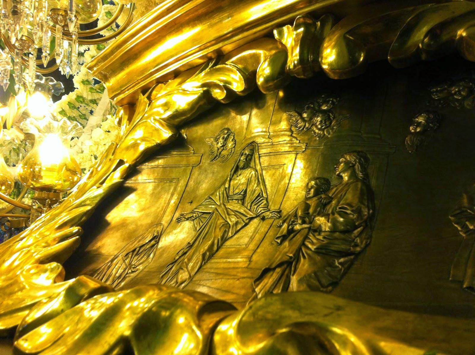 Trono Soledad Semana Santa Cartagena Murcia Arturo Serra escultura 9