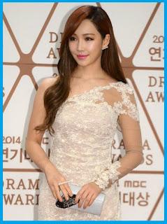 Lee Yoo-ri in MBC Drama Awards 2014