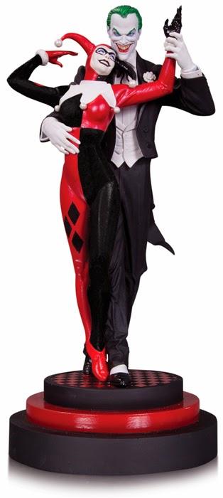 Joker Harley Quinn Statue