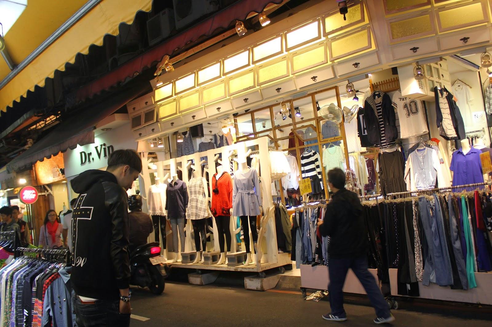 Clothing stores Ximen Taipei