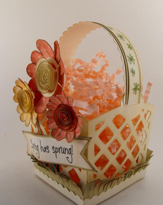 My craft spot spring has sprung basket