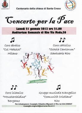 Anno 2'13 Concerto Pace
