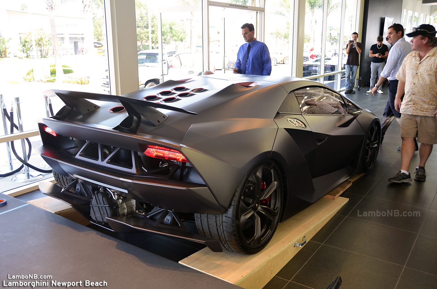 Lamborghini Newport Beach Blog: $2.2 Million Dollar Sesto Elemento Comes To Lamborghini  Newport Beach!