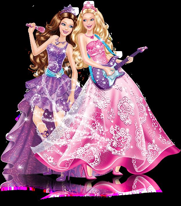 Bauzinho da web ba da web imagens da barbie em png - Barbie et la princesse pop star ...