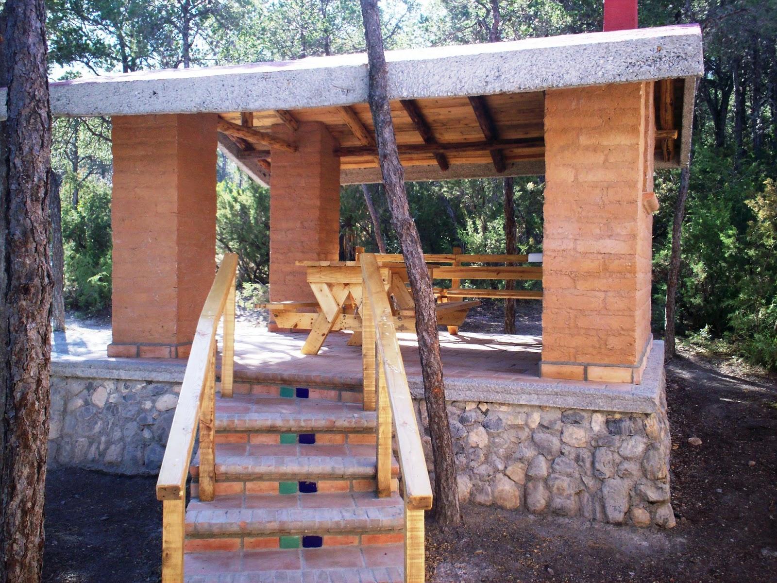 Caba as en adobe artesanal caba as en adobe artesanal - Escaleras de madera rusticas ...
