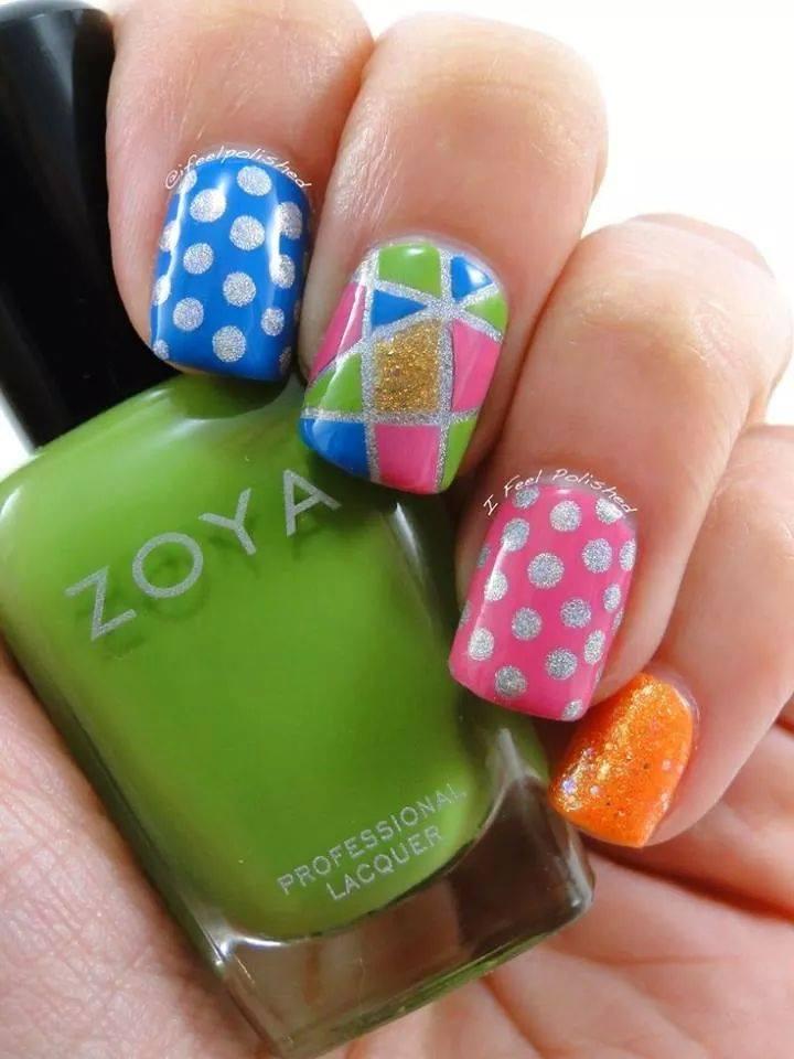Decoraciones de uñas para niñas, faciles, lindas, con flores ...