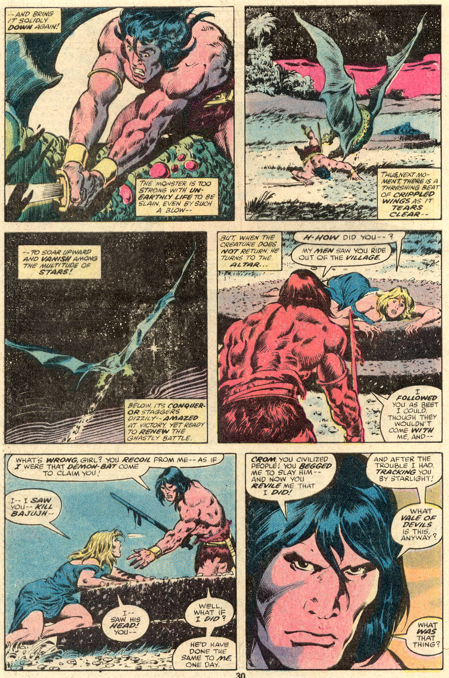 Conan the Barbarian (1970) Issue #104 #116 - English 17