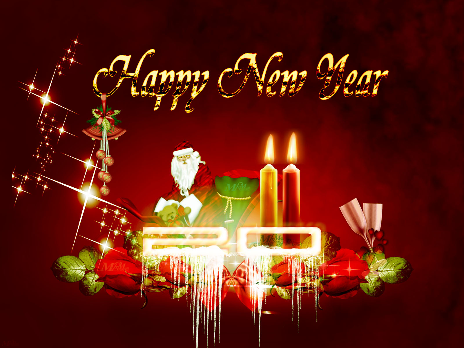 Free Download Wallpapers: Happy New Year Wallpapers