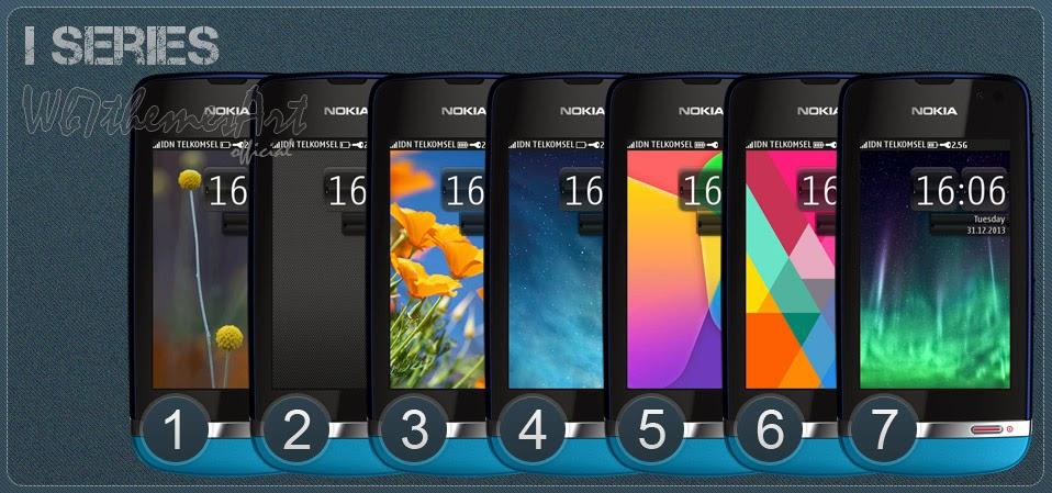 iphone 5 series theme Asha 311, Asha 310, Asha 309, Asha 308, Asha 306, Asha 305 free