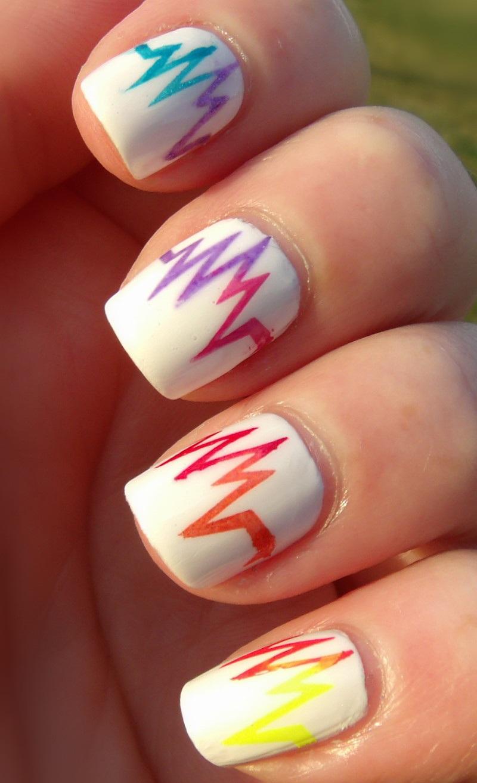 Not Ur Mommas Nails Rainbow Nails