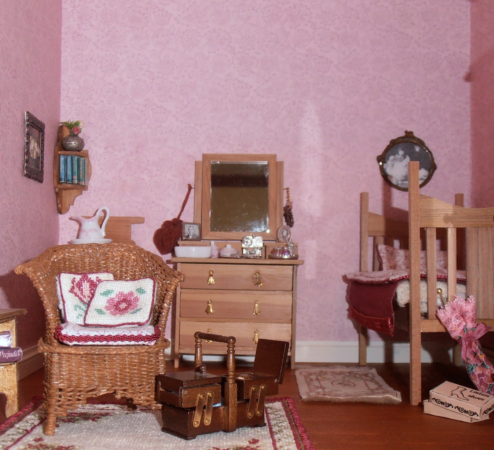 dolls houses and minis: Paints and Wallpaper for ...