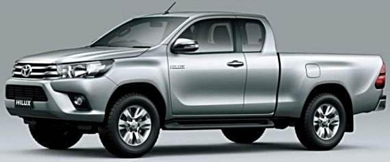 2016 Toyota Hilux UK Release Date