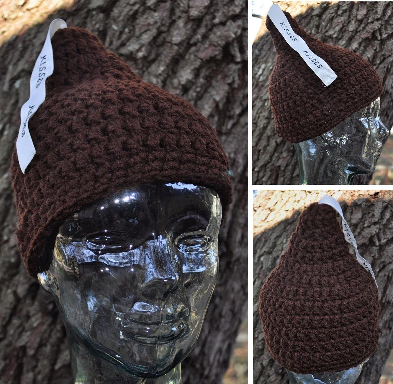 Free Crochet Pattern For Hershey Kiss Hat : My Little Spot of Sanity: Hershey Kiss Hat