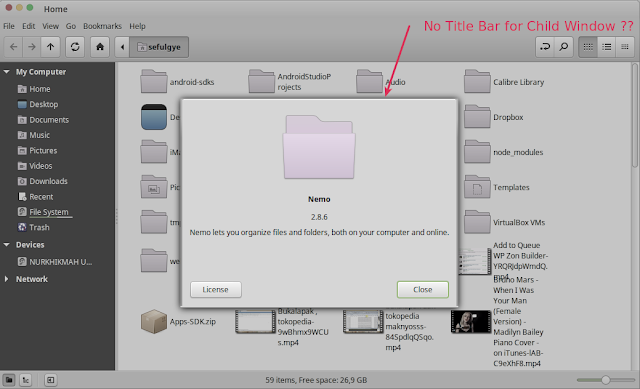 linux title bar missing linux mint title bar missing linux window title bar missing linux mint window title bar missing