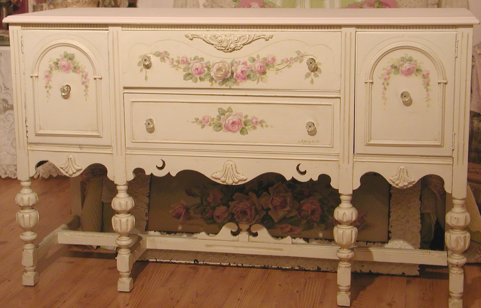 Chateau de fleurs one thing a day until the vintage for Sideboard flur