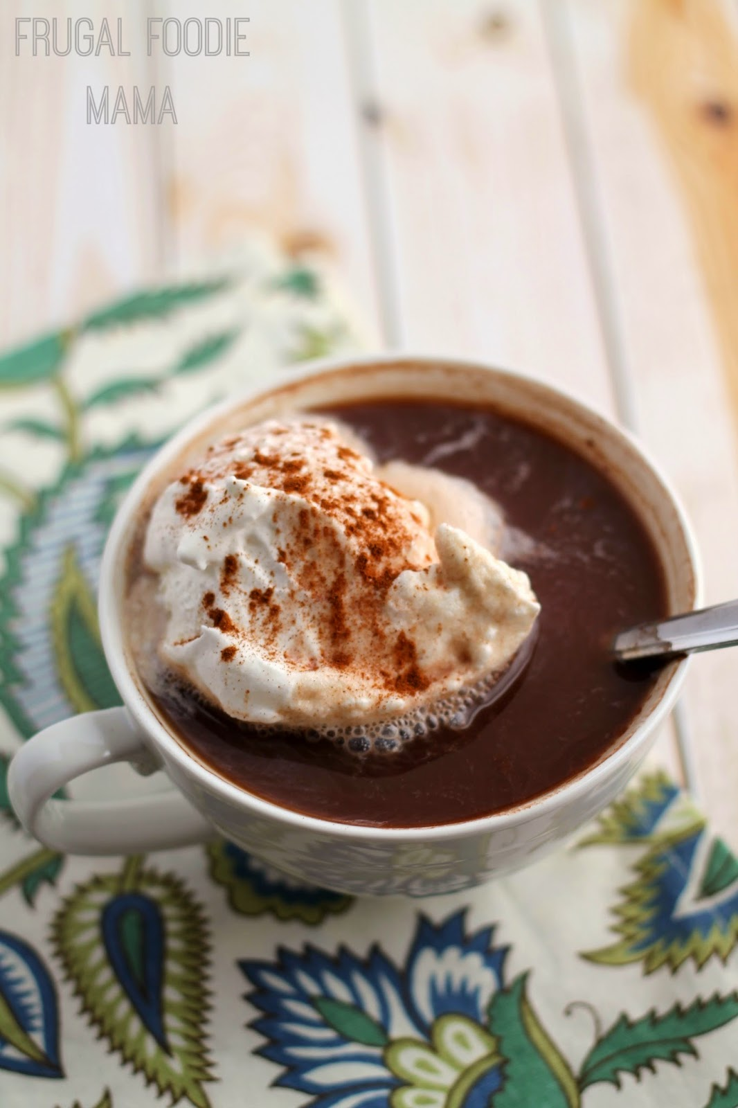 This creamy and comforting Easy Chai Hot Chocolate is ready to sip and ...