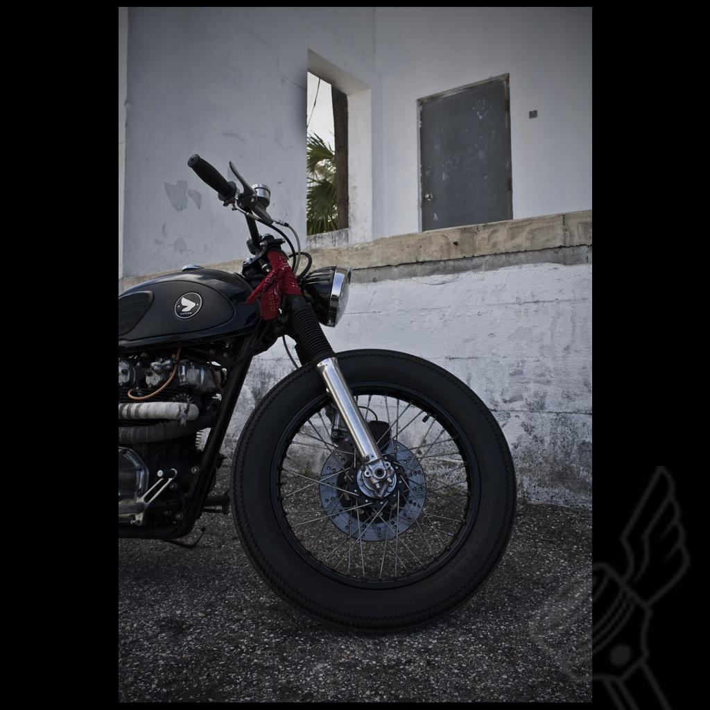 biker excalibur II  Sixty Five CB450 by dimecitycycles