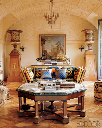 Celebrity Living Rooms Maison De Marrakech