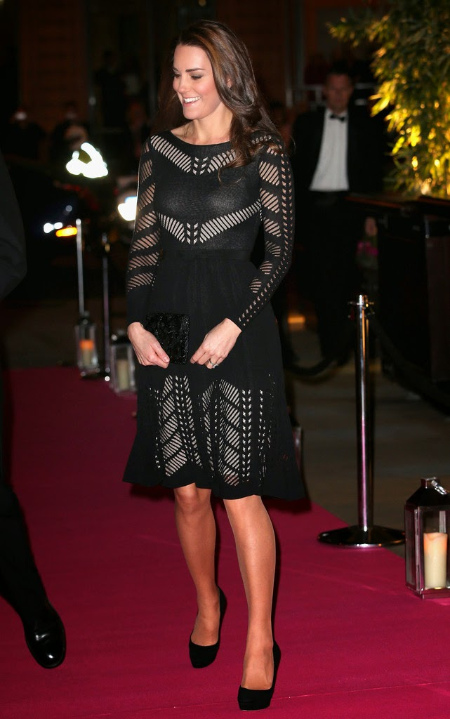 Kate Middleton at the Action on Addiction Gala in London