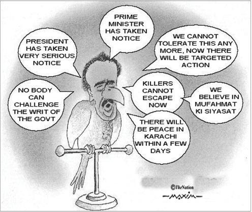 The Nation Cartoon 20-8-2011