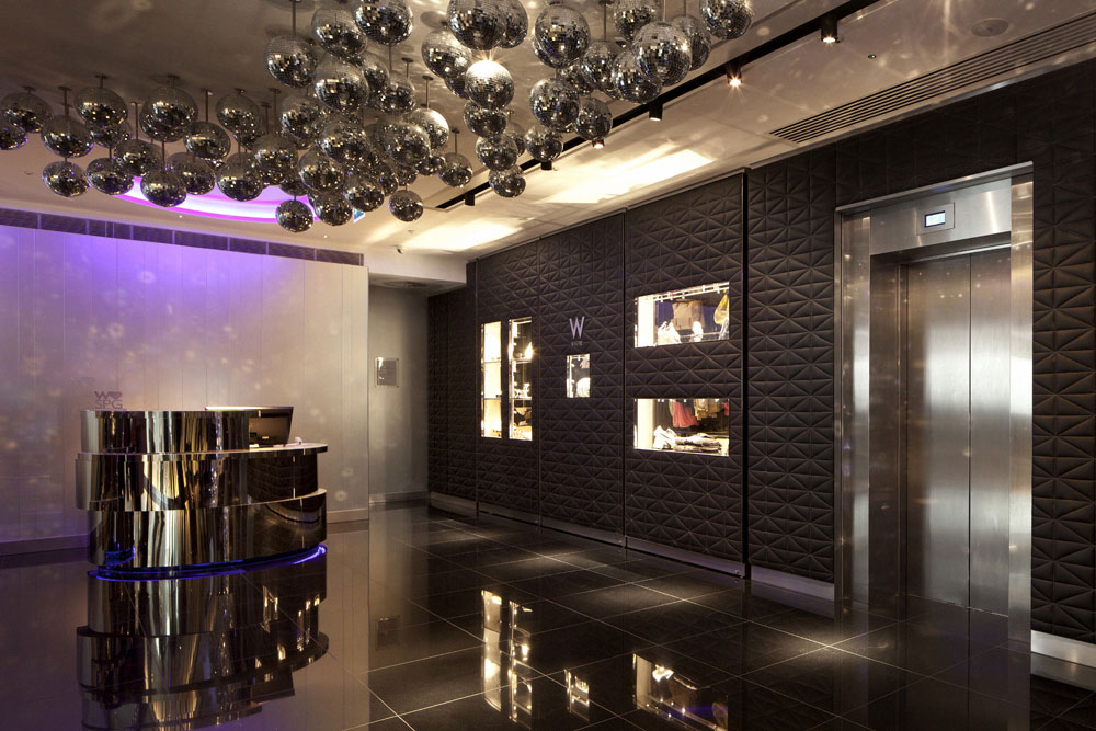 w hotel london interior leicester square by concrete interior design home design leicester michael john