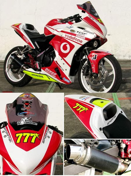 Modifikasi Honda CBR 250 Ala MotoGP