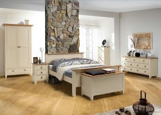 quarto de casal moderno para casa de campo