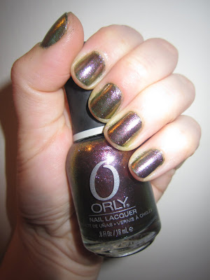 Orly, Orly Nail Polish, Orly Cosmic FX Fall 2010, Orly Space Cadet, Orly Cosmic FX Space Cadet Fall 2010 Collection, nail, nails, nail polish, polish, lacquer, nail lacquer, Orly Fall 2010 Collection, mani, manicure