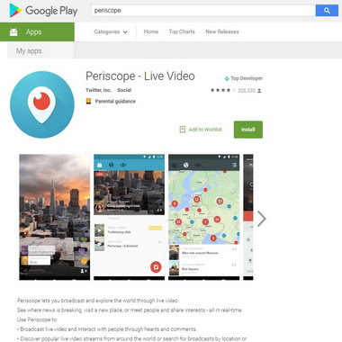 play google com - tv periscope
