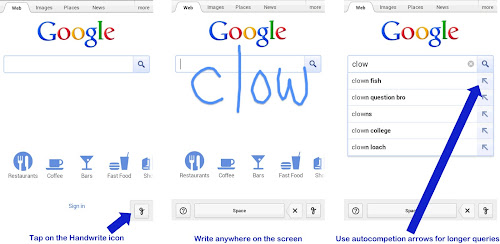 Gogle unveils Handwrite for mobile search