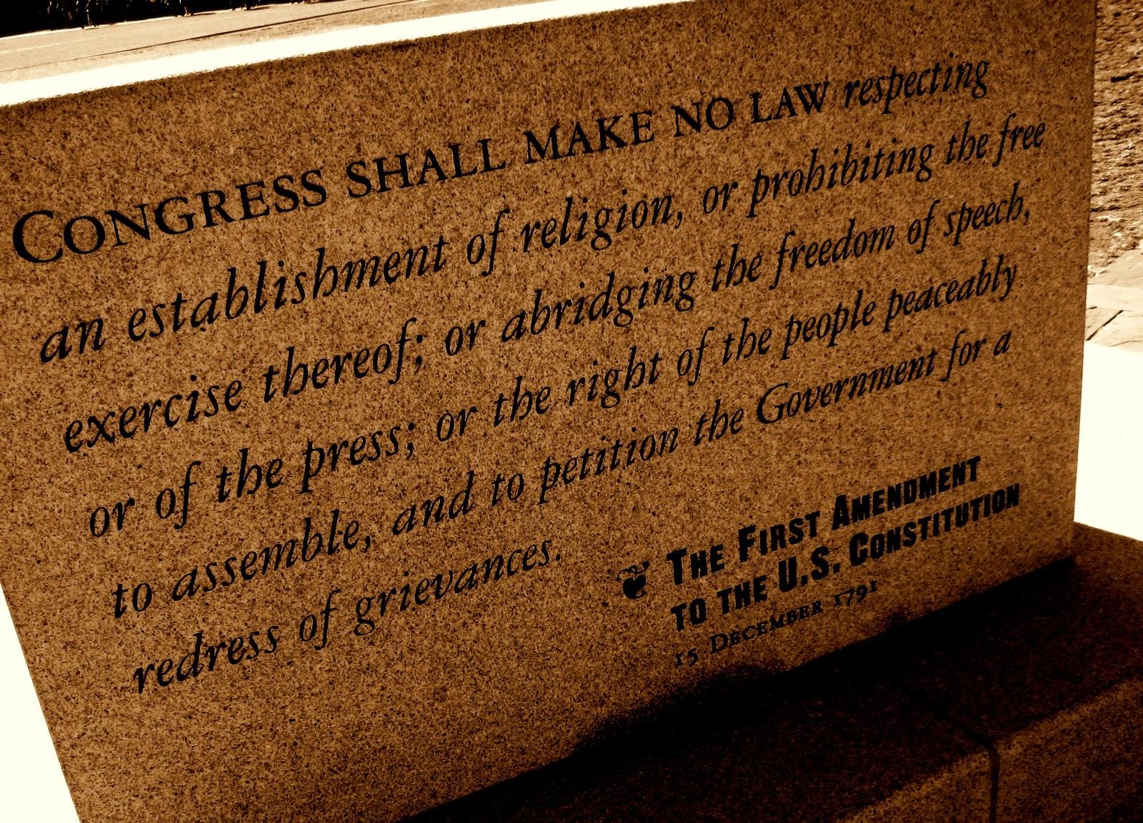 First Amendment Essay