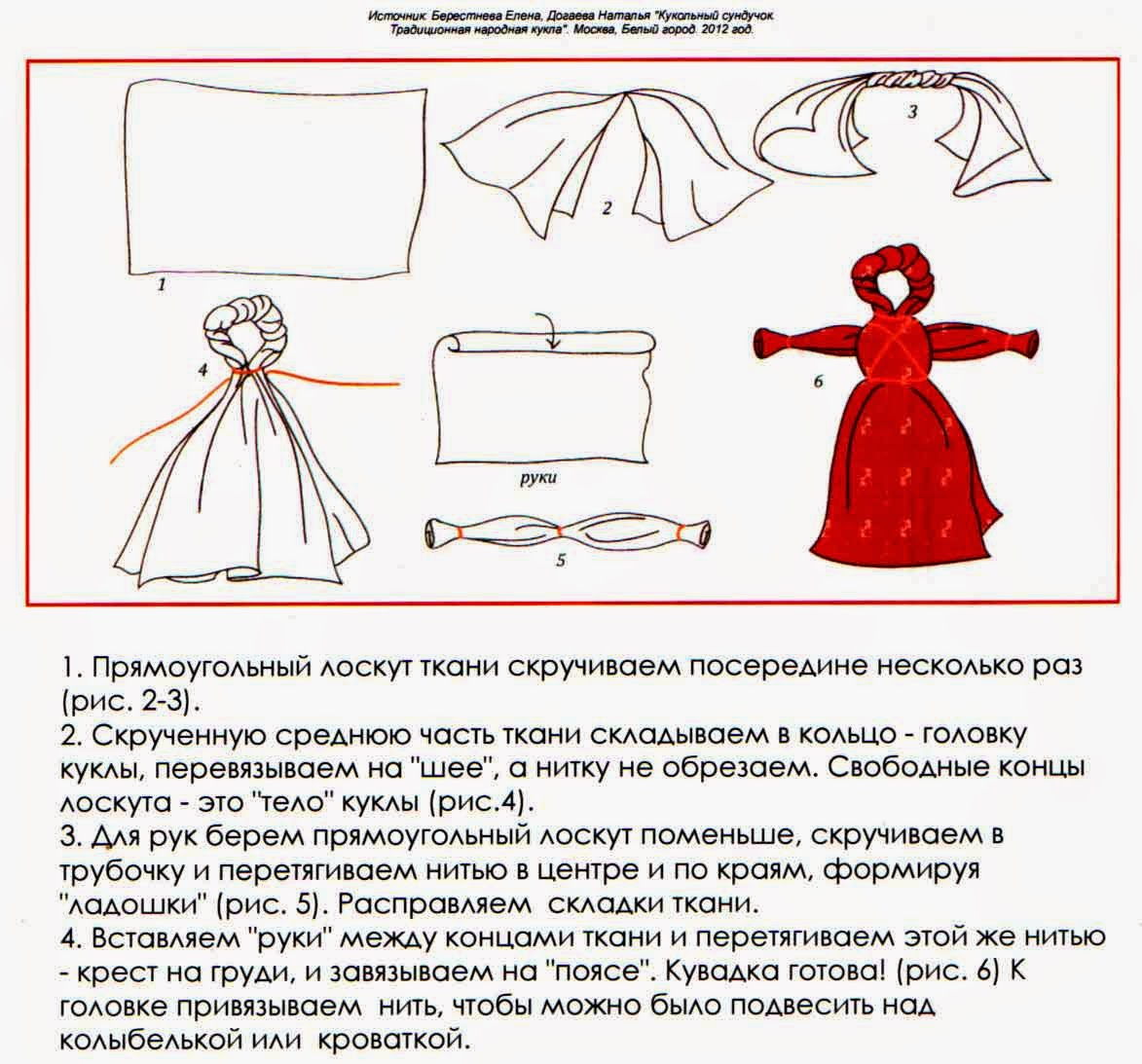 Как сделать куклу оберег