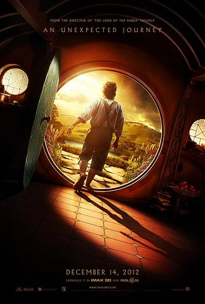 the hobbit, an unexpected journey, movie poster