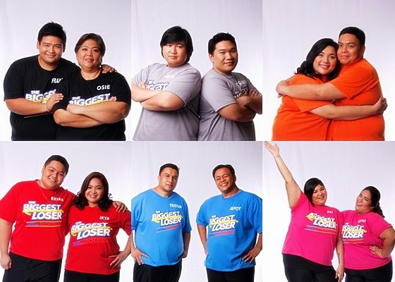 The Biggest Loser Pinoy Edition Doubles Top 6 Pairs