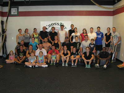 Crossfitters Group Shot for Crossfit Unity