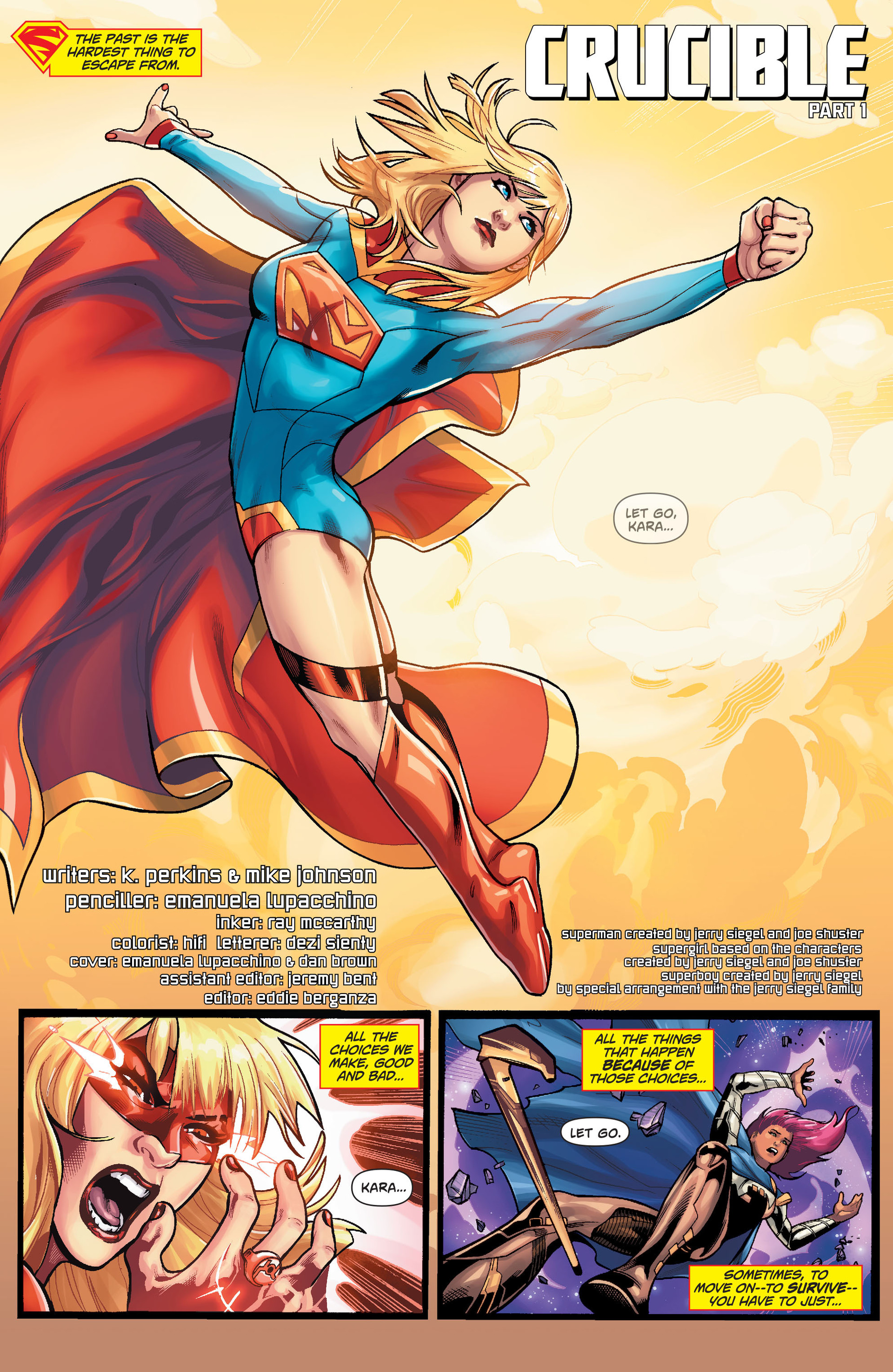 Supergirl (2011) Issue #36 #38 - English 2