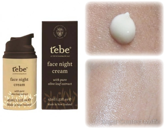 Tebe Face Night Cream review