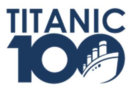 logosociety titanic 100th anniversary logo 10th anniversary logos clip art 100th anniversary logo ideas